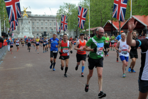 Ian runs the London Marathon for ASSIST